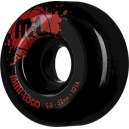Mini Logo S2 101a 52mm Black Wheels
